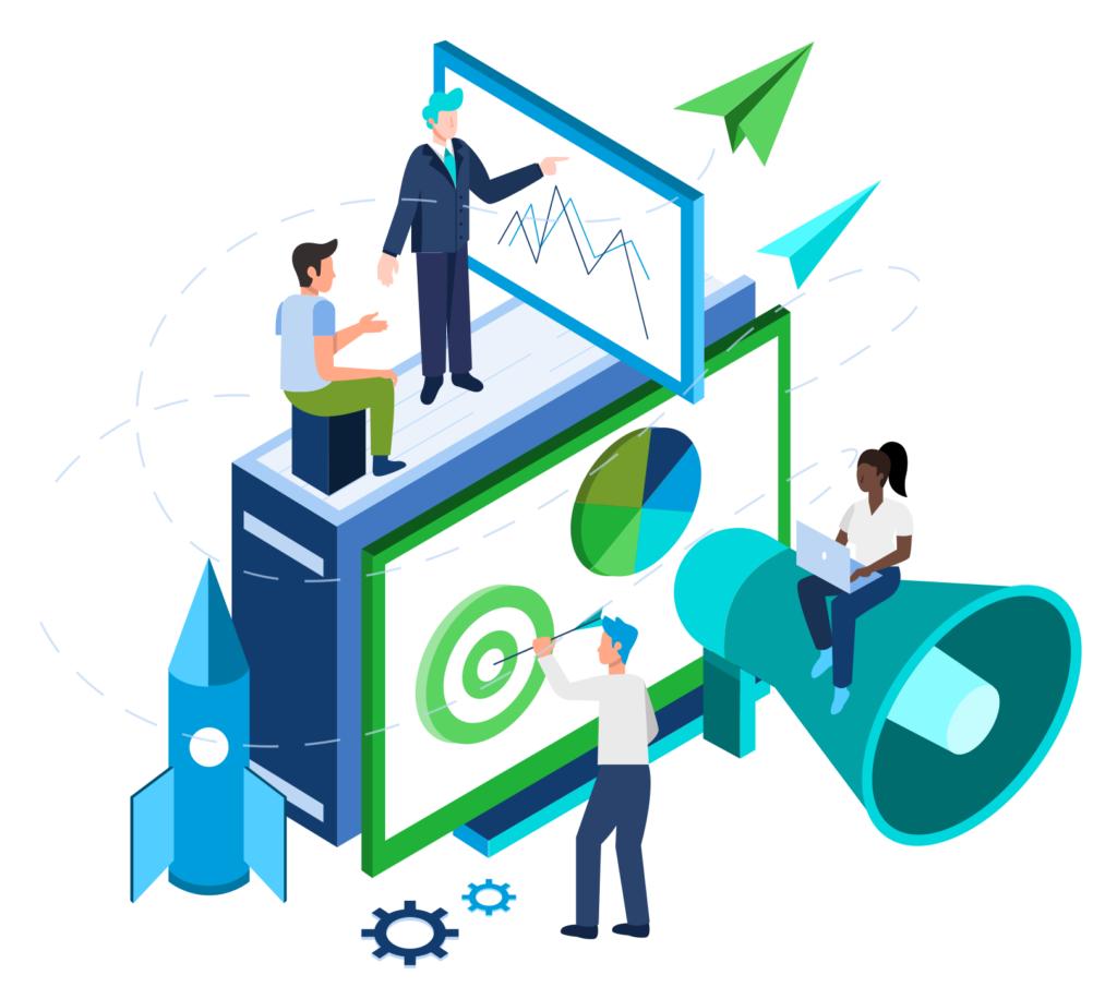 Asset management client portals