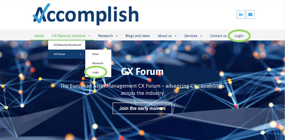 CX asset management community